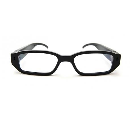 akiniai su užmaskuota kamera
