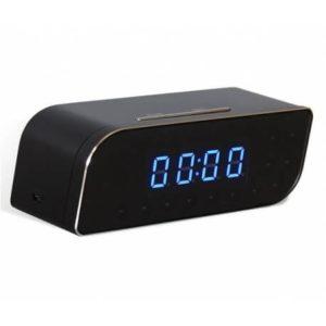 laikrodis su įmontuota kamera Wi fi stebėjimas