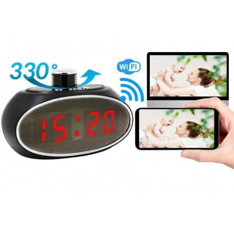 Slapta kamera žadintuve Wi fi aukštos kokybės vaizdas